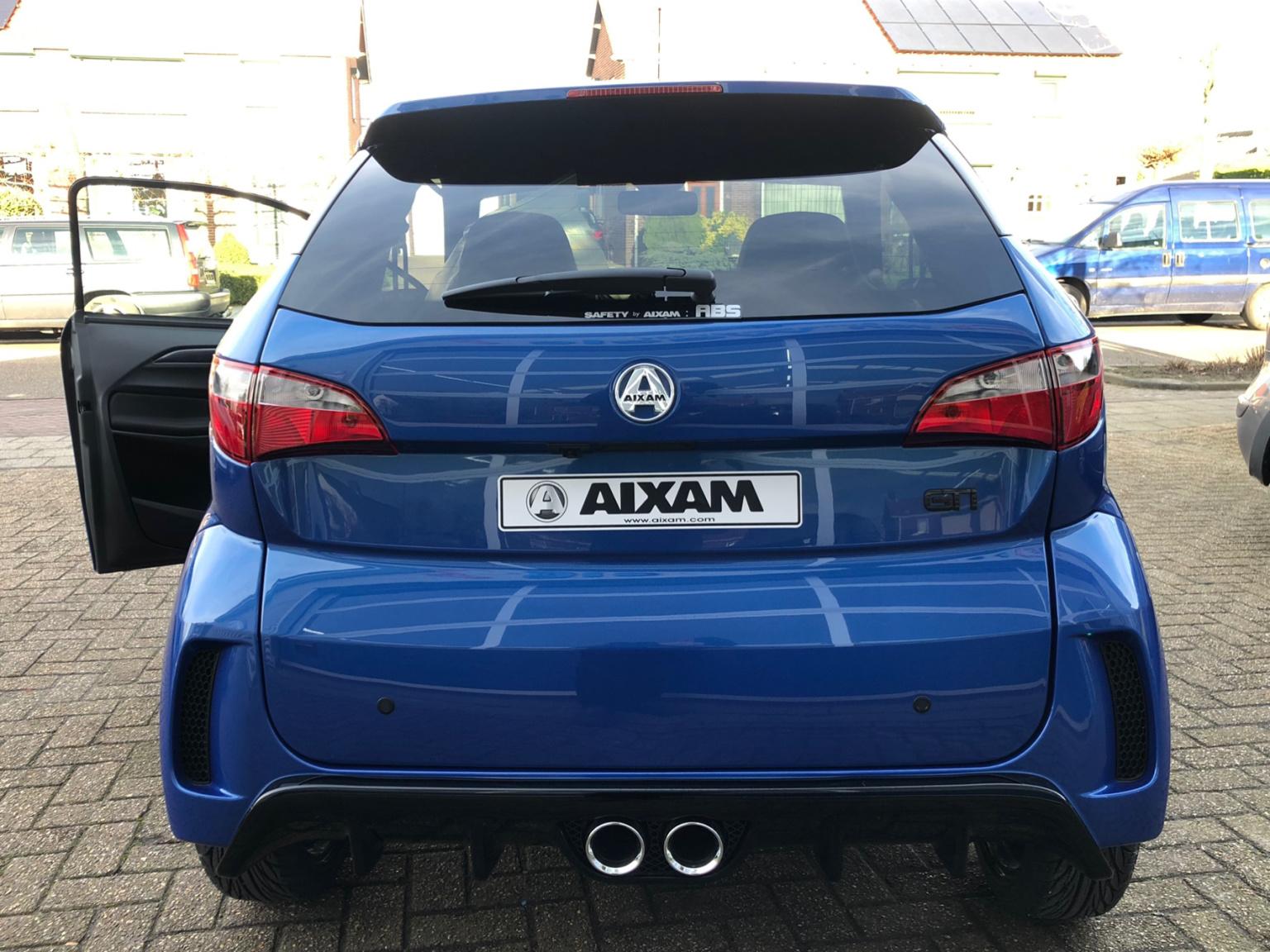 """Aixam-Brommobiel Coupe GTI nieuw sportief 16"""" wielen-5"""